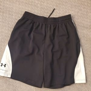 Black and whitUnder Armour shorts